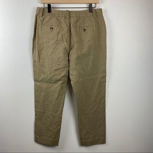 Vince Pants & Jumpsuits - VINCE Wide Leg Linen Khaki Pants